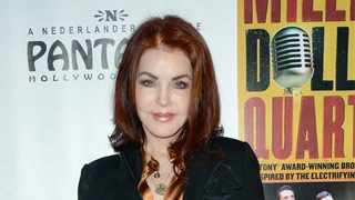 Priscilla Presley was 'nervous' about leaving Elvis Presley alone because of his heartthrob status, as she always worried another woman would make a move on him. Picture: Bang Showbiz