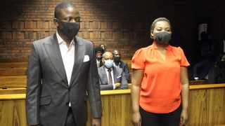 Prophet Shepherd Bushiri, leader of the Enlightened Christian Gathering church, and his wife Mary at their bail hearing. Picture: Jacques Naude/African News Agency (ANA)