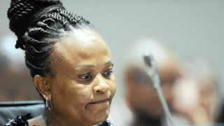 Public Protector Busisiwe Mkhwebane. Picture: Henk Kruger/African News Agency (ANA) Archives