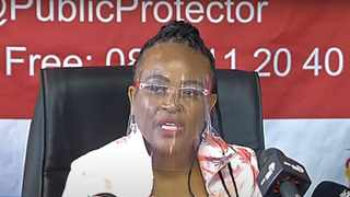 Public Protector Busisiwe Mkhwebane failed to block Parliament from continuing with the process of setting up an inquiry into her fitness. File picture: African News Agency (ANA)