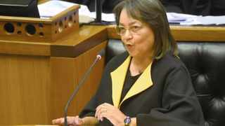 Public Works and Infrastructure Minister Patricia de Lille. Picture: Phando Jikelo/African News Agency(ANA)