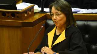 Public Works and Infrastructure Minister Patricia de Lille. Picture: Phando Jikelo/African News Agency (ANA)