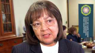 Public Works and Infrastructure Minister Patricia de Lille will be the first state witness when former president Jacob Zuma's corruption, fraud, money laundering, racketeering and tax evasion trial resumes on Monday. Picture: Ian Landsberg/ANA