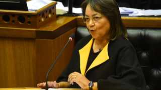 Public works and infrastructure minister, Patricia de Lille. File photo: Phando Jikelo/African News Agency(ANA)