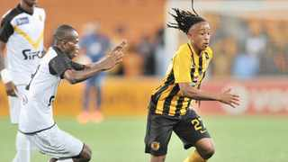Pule Ekstein scored twice against Elgeco Plus as Kaizer Chiefs advanced into the next round of the Caf Confederation Cup. Photo: Samuel Shivambu/BackpagePix