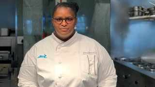 Puleng Moshoaliba is the executive sous chef at Sun International's The Maslow Hotel in Sandton, working under executive chef Hector Mnyayiza. Picture: Supplied.
