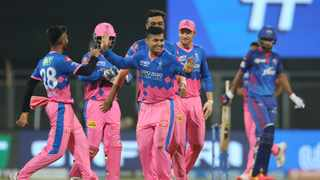 Rajasthan Royals sealed an unlikely three-wicket victory over Delhi Capitals in their Indian Premier League clash on Thursday. Photo: @rajasthanroyals/Twitter