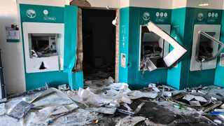 Recent damage to ATMs in Harding, Souther KwaZulu-Natal as as looting and civil unrest gripped South Africa. Photo: Courtesy of Mark Gallagher.