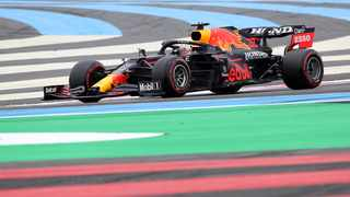 Red Bull's Max Verstappen in action during practice at Circuit Paul Ricard on Saturday. Photo: Yves Herman/Reuters