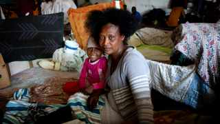 Refugees at the refugee settlement at Paint City Bellville where they have been housed for the duration of the lockdown. File Picture: Brendan Magaar/African News Agency