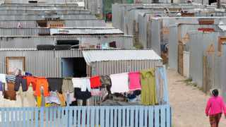 Residents of Blikkiesdorp were told they would stay in the temporary relocation area for only six months. File picture: Sam Clark
