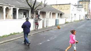 Residents of Bromwell Street in Woodstck fear eviction  will split a close-knit community. picture: Brenton Geach