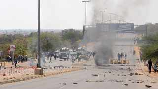 Residents of Mabopane blocked the M21 road after ANC councillor Tshepo Motaung was murdered. Picture: Jacques Naude/African News Agency (ANA)