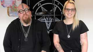 Riaan Swiegelaar and Adri Norton are the co-Founders of the South African Satanic Church. Picture: Brendan Magaar/African News Agency(ANA)