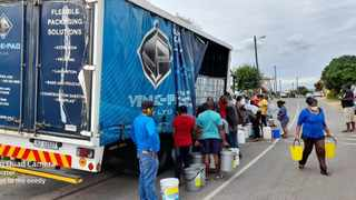Ricky Naidoo, the owner of plastic packaging company Venk-pac, said he had dispatched three trucks each day to assist residents. Each truck carried between 8 000 and 10 000 litres of water as well as about 3 000 5-l bottles of water.