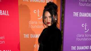 Rihanna attends the 5th annual Diamond Ball benefit gala at Cipriani Wall Street on Thursday. It was there that her fans saw, and are now speculating, that she's pregnant. (Photo by Charles Sykes/Invision/AP)