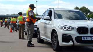 Road Traffic Inspectorate officers stop motorists at a roadblock at the Mariannhill Toll Plaza in March this year. The KZN Transport department has said officers are ready for the implementation of the Aarto system. Picture: Tumi Pakkies /African News Agency (ANA)