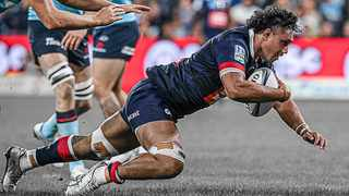 Rob Leota was one of the Melbourne Rebels players who impressed during their Super Rugby AU win over struggling NSW Waratahs on Saturday. Photo: @MelbourneRebels/Twitter