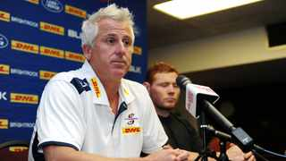 Robbie Fleck speaks to the media ahead of the match against the Brumbies. Photo: Ryan Wilkisky/BackpagePix
