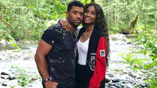 Russell Wilson and Ciara. Picture: Instagram
