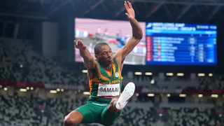 Ruswahl Samaai of South Africa in action during the recent Tokyo Olympics. Picture: Aleksandra Szmigiel/Reuters