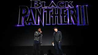 Ryan Coogler and Kevin Feige. Picture: Twitter
