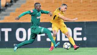 Ryan Moon will replace Leonardo Castro in the Kaizer Chiefs starting line-up today. Photo: BackpagePix