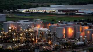 SAPREF, South Africa's largest crude oil refinery, yesterday declared force majeure due to the civil unrest in the country and disruption of supply routes in and out of Kwazulu-Natal. Photo: REUTERS/Siphiwe Sibeko
