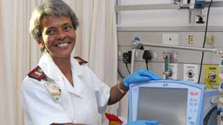 SOUTH AFRICA - Cape Town - 05 May 2021 - Sister Jennifer Abrahams, Operational manager, Cardio thoracic, Groote Schuur Hospital. TRACEY ADAMS African News Agency (ANA)