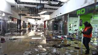 SPEAKING to Business Report Online, three business owners shared their stories on how much the damage cost them and what happened when their businesses were damaged.Picture: Itumeleng English, ANA.