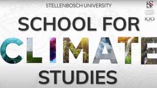 STELLENBOSCH University has formally established a School for Climate Studies with the aim of combating climate change. Picture: Supplied.