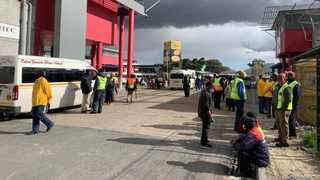 Safety patrol groups and volunteer teams in Bonteheuwel, Gugulethu, Langa, and other areas came out in their numbers, to show visibility and safeguard their communities. Picture: Supplied.