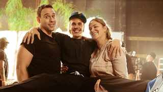 Scooter Braun, Justin Bieber and Allison Kaye. Picture: Instagram