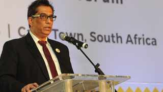 Sekunjalo Investment Holdings chairperson Dr Iqbal Survé led a delegation to the standing committee on finance. Picture: Henk Kruger/ African News Agency (ANA) Archives