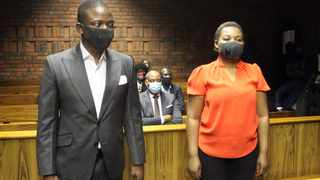 Self-proclaimed prophet Shepherd Bushiri, leader of the Enlightened Christian Gathering church, and his wife Mary in the Pretoria Magistrate's Court. File picture: African News Agency (ANA)