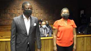 Self-proclaimed prophet Shepherd Bushiri, leader of the Enlightened Christian Gathering church, and his wife in court. File picture: African News Agency/ANA