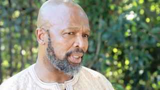 Sello Maake Ka-Ncube is one of the 50 actors and actresses in the 10-part epic Blood Psalms that is currently in production. File Picture: Jacques Naude/African News Agency (ANA)