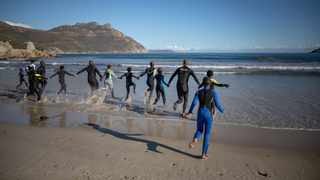 Sentinel Ocean Alliance youth learning to swim through the Turn the Tide programme at the Parley Ocean School in Hout Bay. Picture: Sasha Specker