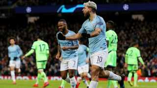 Sergio Aguero scored twice, while Raheem Sterling also got on to the score-sheet for Manchester City against Schalke on Tuesday. Photo: Lee Smith/Action Images via Reuters