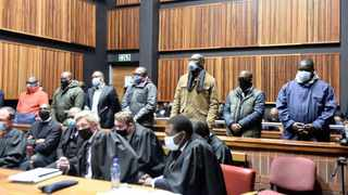 Seven men arrested in connection with VBS looting appeared in the Palm Ridge Court earlier this week. Picture: Itumeleng English/African News Agency/ANA