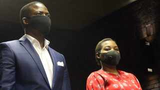 Shepherd Bushiri and his wife Mary at their bail hearing. Picture: Jacques Naude/African News Agency (ANA)