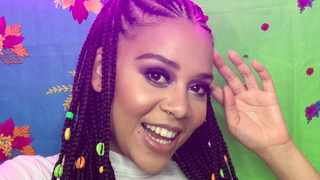 Sho Madjozi is among the top 10 most popular local celebs on TikTok for 2020. Picture: Instagram