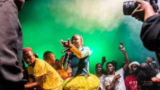 Sho Madjozi performing at Boiler Room X Ballantine's in Johannesburg. Picture: YouTube Thumbnail.