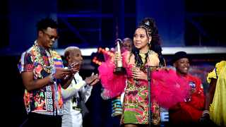 Sho Madjozi won Newcomer and Female Artist Award at the South African Music Awards (SAMA's), held at Sun City, North West Province Picture: Nokuthula Mbatha/African News Agency(ANA)