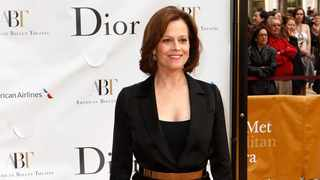 Sigourney Weaver arrives for the American Ballet Theatre's Opening Night Spring Gala in New York. Picture: Reuters/Lucas Jackson