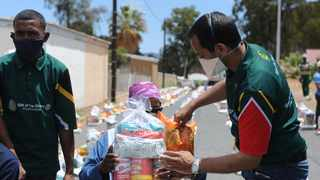 Since the start of the Covid-19 pandemic, humanitarian and disaster relief organisation Gift of the Givers has provided medical supplies, food relief and water provision, among many things. Picture: Ayanda Ndamane/African News Agency (ANA)