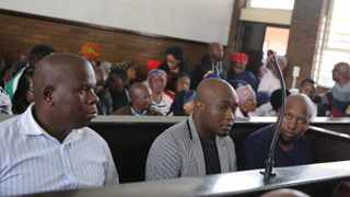 Sindiso Magaqa murder accused in court. File picture: Motshwari Mofokeng/African News Agency(ANA)