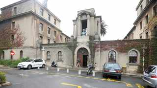 Smuts Hall is a men's hostel on the upper campus of the University of Cape Town. Picture Leon Lestrade/African News Agency