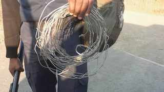 Snare Aware spends weekends locating and removing snares on the South Coast. FACEBOOK