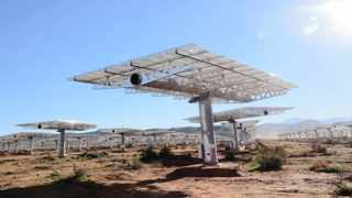Soitec-developed concentrated photovoltaic plant outside Touwsriver in the Western Cape,Solar .Photo Supplied 3